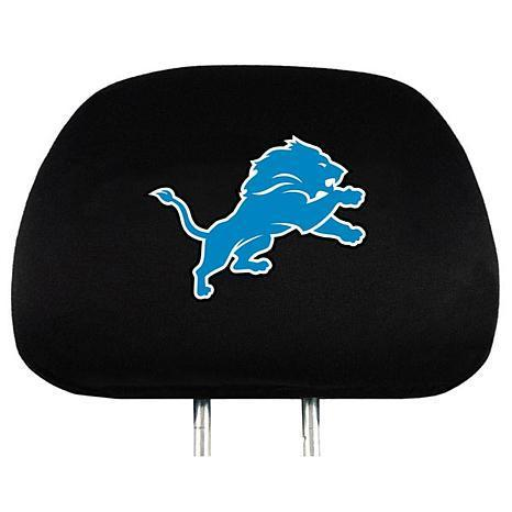 Detroit Lions Head Rest Cover