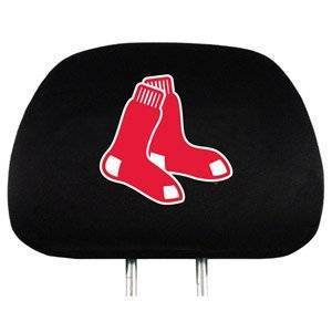 Boston Red Sox Head Rest Cover