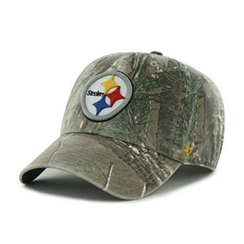 87beef1e Pittsburgh Steelers Adjustable Camo 47 Brand Hat