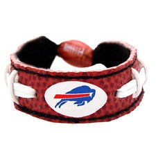 Buffalo Bills Game Day Leather Bracelet