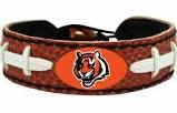 Cincinnati Bengals Game Day Leather Bracelet