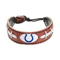 Indianapolis Colts Game Day Leather Bracelet