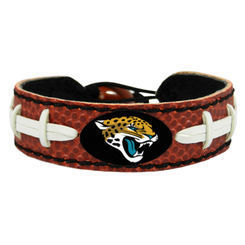 Jacksonville Jaguars Game Day Leather Bracelet
