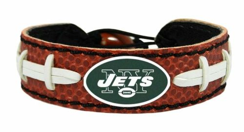 New York Jets Game Day Leather Bracelet