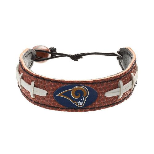 Los Angeles Rams Game Day Leather Bracelet