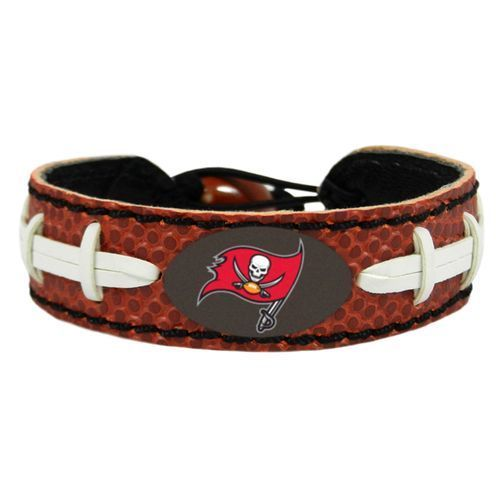 Tampa Bay Buccaneers Game Day Leather Bracelet