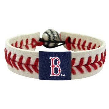 Boston Red Sox Game Day Leather Bracelet