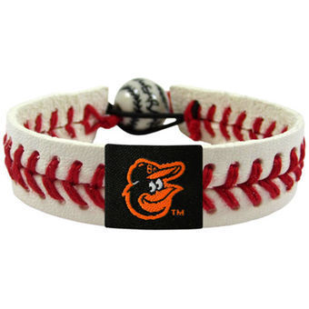 Baltimore Orioles Game Day Leather Bracelets