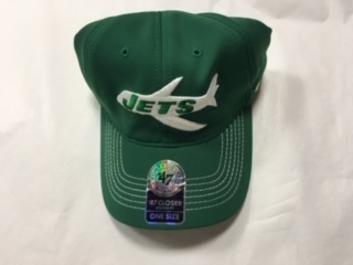 New York Jets Stretch Fit 47 Brand Hat Vintage