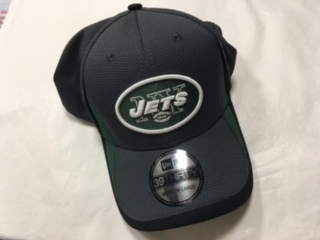 New York Jets Grey Stretch Fit 47 Brand Hat
