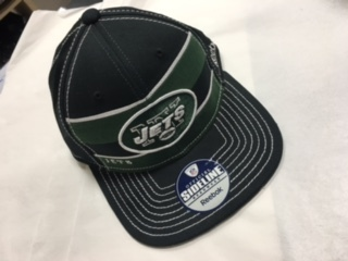 New York Jets Reebok Flat Brim Hat