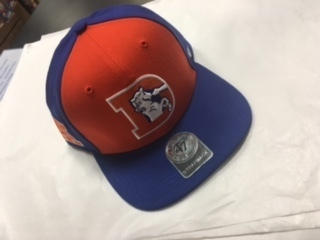 Denver Broncos Adjustable Flat Brim 47 Brand Hat Vintage