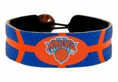 New York Knicks Game Day Leather Bracelet