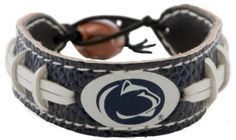 Penn State Game Day Leather Bracelet