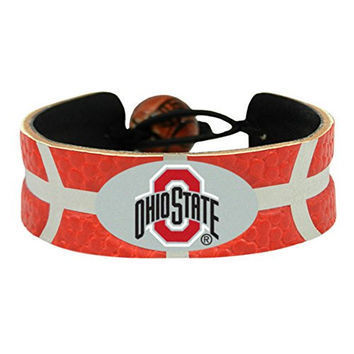 Ohio State Game Day Leather Bracelet