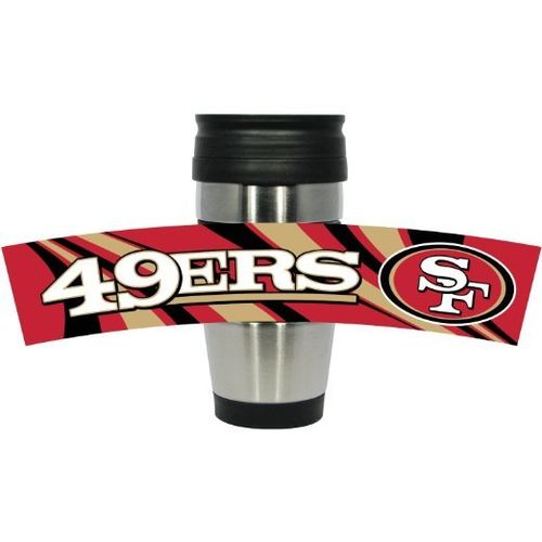 San Francisco 49ers PVC Stainless Steel Travel Mug