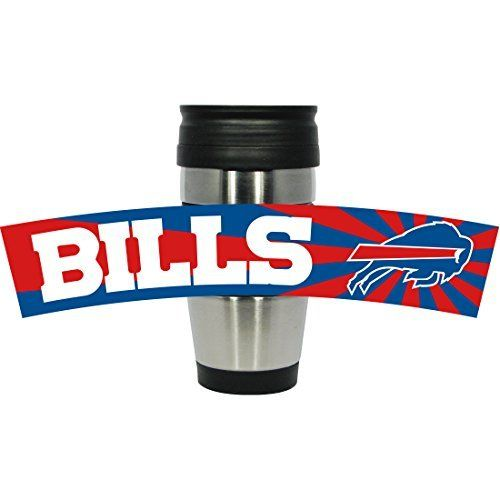 Buffalo Bills PVC Stainless Steel Travel Mug