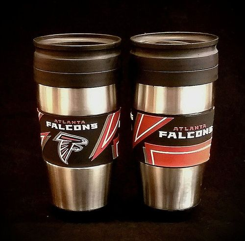 Atlanta Falcons PVC Stainless Steel Travel Mug