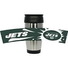 New York Jets PVC Stainless Steel Travel Mug