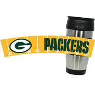 Green Bay Packers PVC Stainless Steel Travel Mug