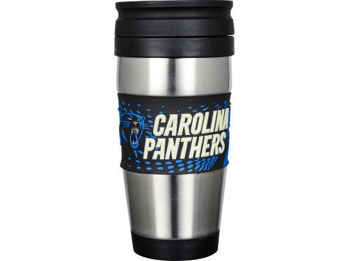 Carolina Panthers PVC Stainless Steel Travel Mug