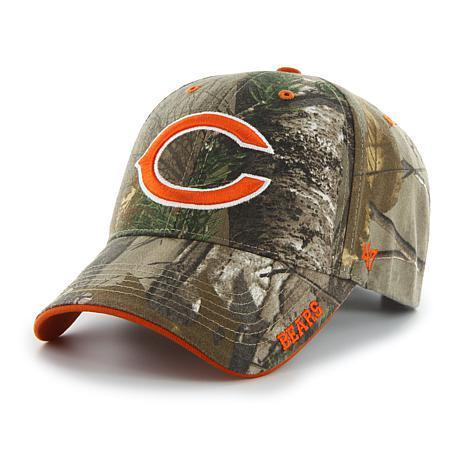 Chicago Bears Adjustable 47 Brand Hat Camo