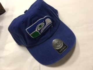 097dcadf5 Seattle Seahawks Adjustable 47 Brand Hat Vintage