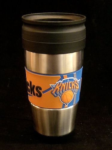 New York Knicks PVC Stainless Steel Travel Mug
