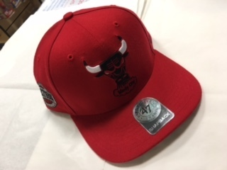 Chicago Bulls Red Snapback
