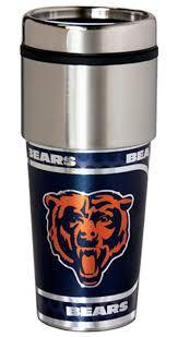 Chicago Bears Stainless Steel Travel Mug