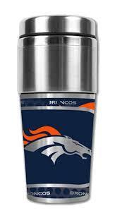 Denver Broncos Stainless Steel Travel Mug