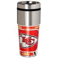Kansas City Chiefs Stainless Steel Travel Mug
