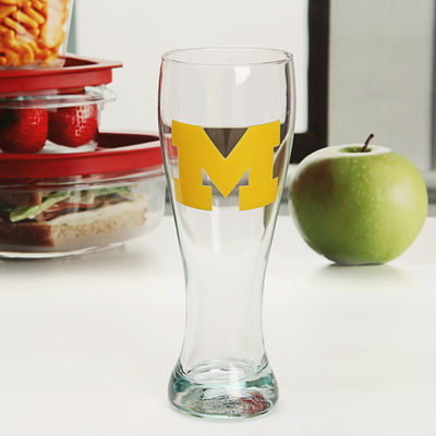 Michigan Wolverines 23oz. Pilsner Glass