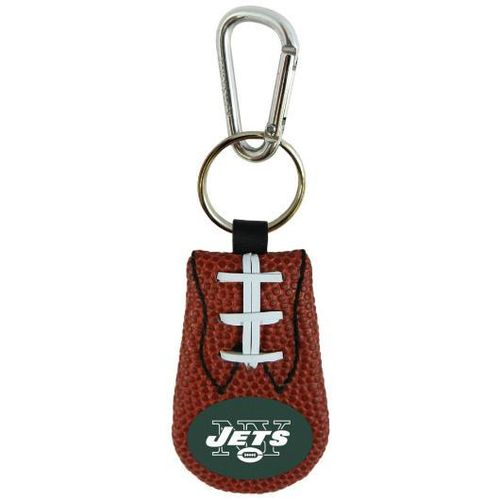 JETS GENUINE NFL FOOTBALL KEYCHAIN