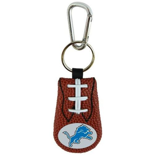 LIONS GENUINE NFL FOOTBALL KEYCHAIN