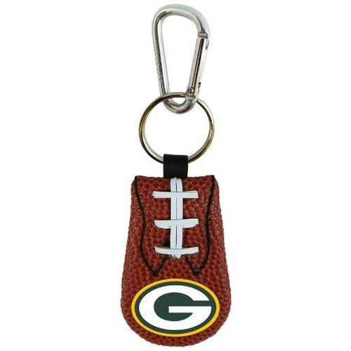 PACKERS GENUINE NFL FOOTBALL KEYCHAIN