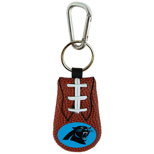 PANTHERS GENUINE NFL FOOTBALL KEYCHAIN