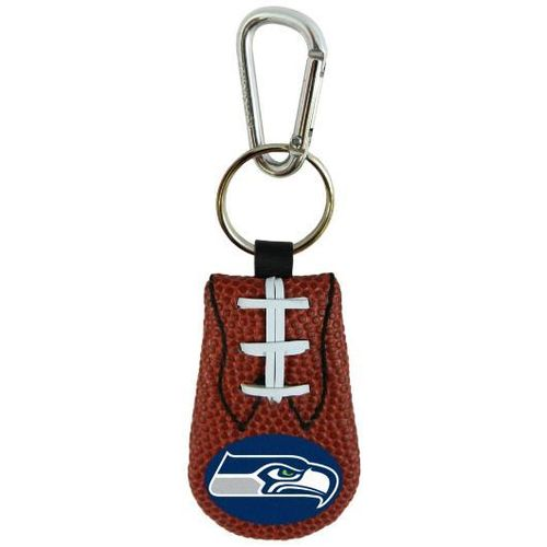 SEAHAWKS GENUINE NFL FOOTBALL KEYCHAIN