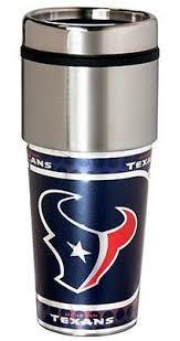 Houstan Texans Stainless Steel Travel Mug