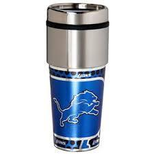 Detroit Lions Stainless Steel Travel Mug
