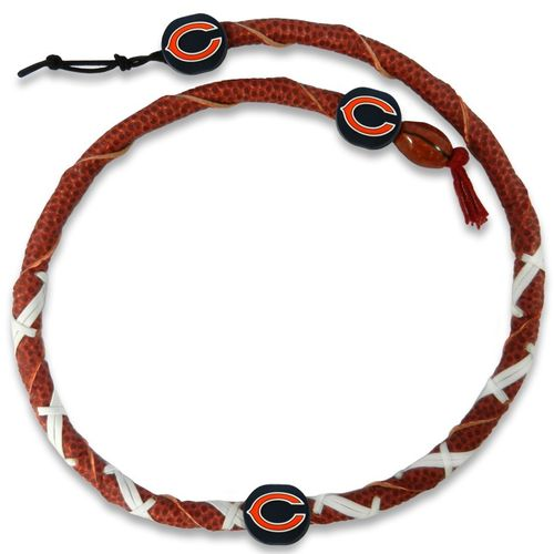Chicago Bears Classic NFL Spiral Football Necklace