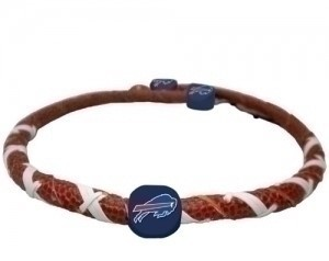 Buffalo Bills  Classic NFL Spiral Football Necklace