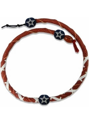 Dallas Cowboys Classic NFL Spiral Football Necklace