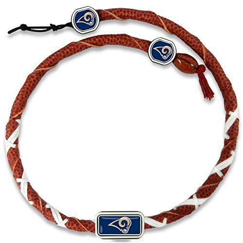Los Angeles Rams Classic NFL Spiral Football Necklace