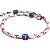 Minnesota Twins MLB Spiral Baseball Necklace