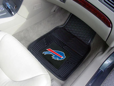 Buffalo Bills NFL Heavy Duty 2-Piece Vinyl Car Mats