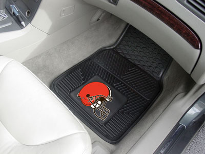 Cleveland Browns NFL Heavy Duty 2-Piece Vinyl Car Mats