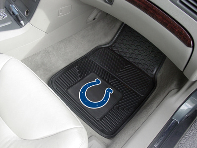 Indianapolis Colts NFL Heavy Duty 2-Piece Vinyl Car Mats