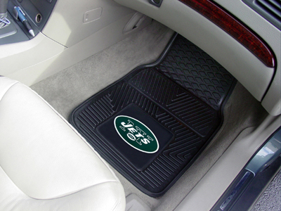 NY JETS NFL Heavy Duty 2-Piece Vinyl Car Mats