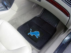 NFL Heavy Duty Car Mats LIONS